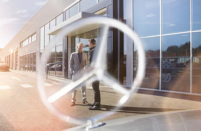 Vehicle rental for business customers