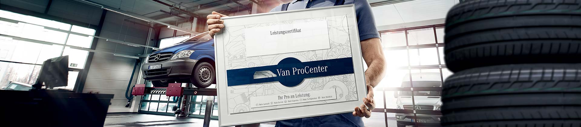 [Translate to Englisch:] Van ProCenter
